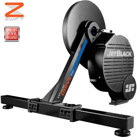 Jet Black WhisperDrive Direct Drive Smart Trainer