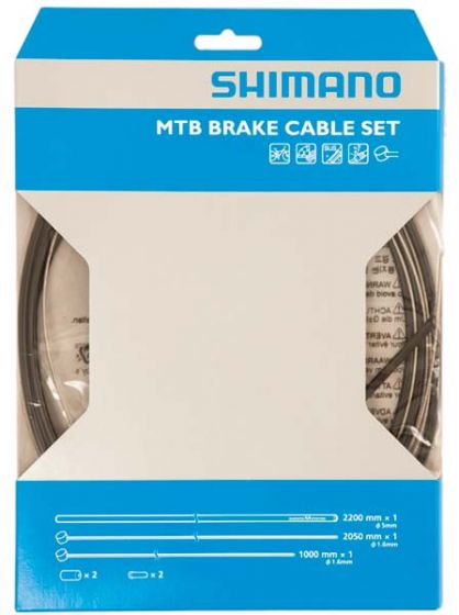 Shimano Road/MTB Stainless Steel Brake Cable Set
