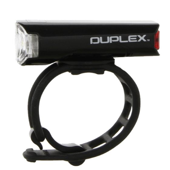 Cateye Duplex Front and Rear Helmet Light