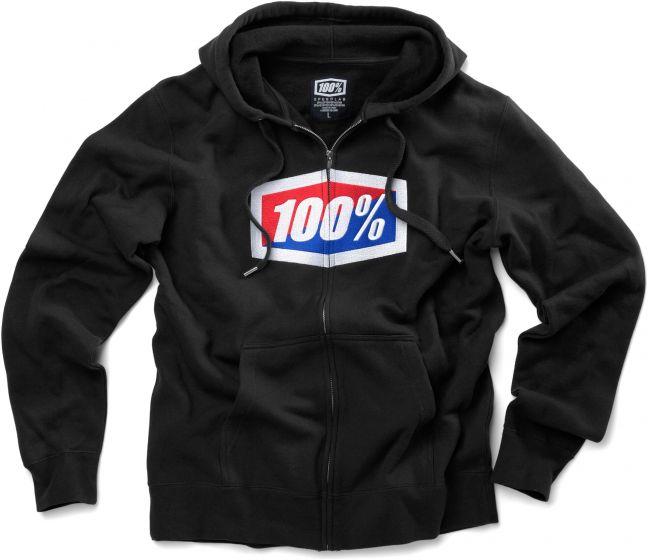 100% Official Zip Hoodie