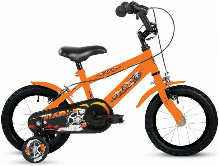 Bumper Flash 18-Inch Kids Bike