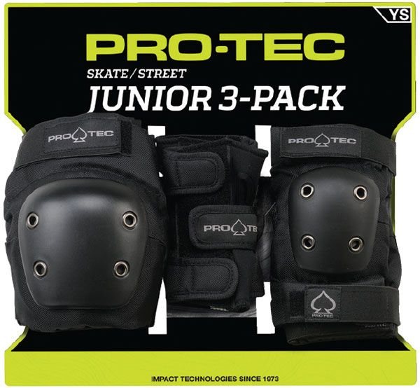 Pro-Tec Street Gear Junior 3 Pack Pad Set