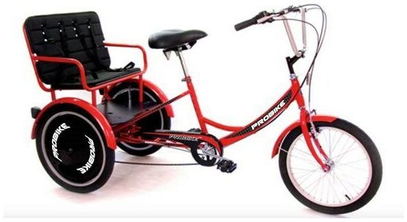 Probike T-800 Kids Carrier 2021 Tricycle