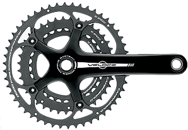 Campagnolo Veloce Triple FC13-VLB0090 10-Speed Chainset