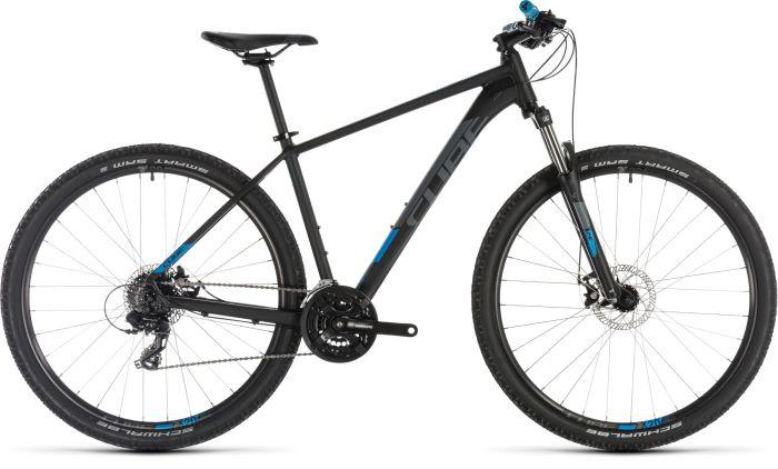 Cube Aim 2019 Bike - Black/Blue