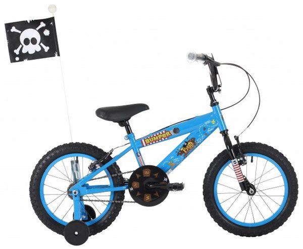 Bumper Pirate 16-Inch 2016 Boys Bike