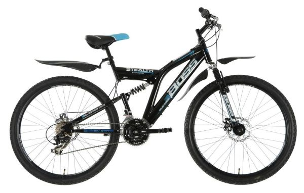 Boss Stealth 26-Inch Bike