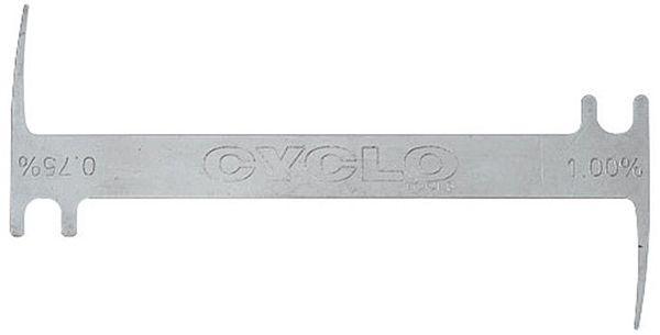 Cyclo Chain Wear Indicator Tool