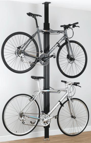 Gear Up BUA Aluminium Floor To Ceiling Bike Rack