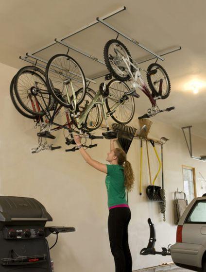 Saris Cycle Glide 4 Bike Ceiling Rack