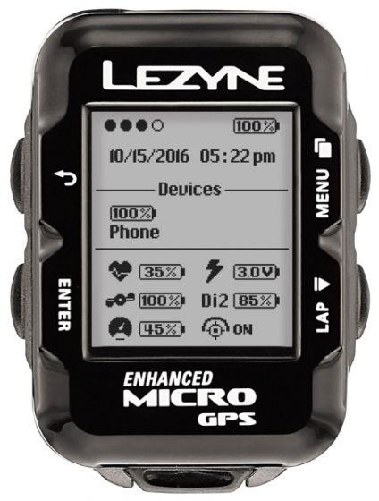 Lezyne Micro GPS Computer Loaded Bundle