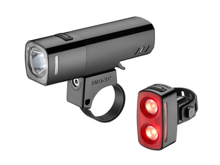 Giant HL 700 / TL 200 Front and Rear Light Set