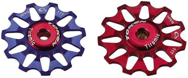 Token Alloy Rear Mech Jockey Wheels Set