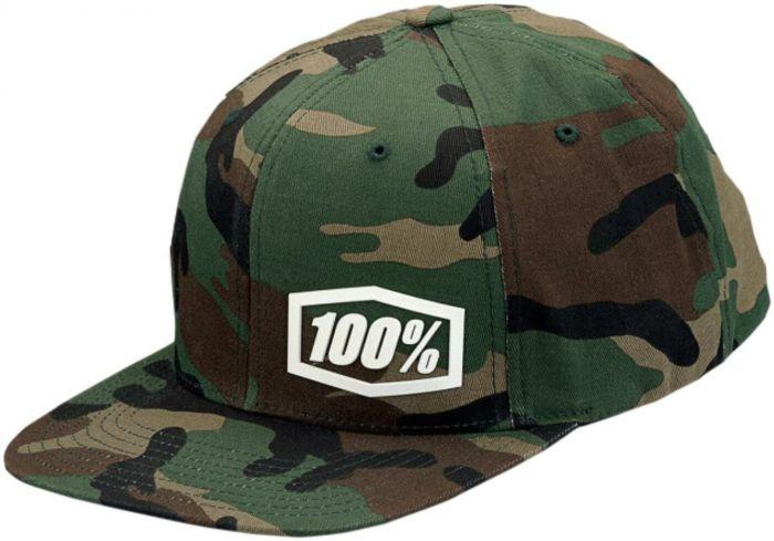 100% Machine Snapback Cap