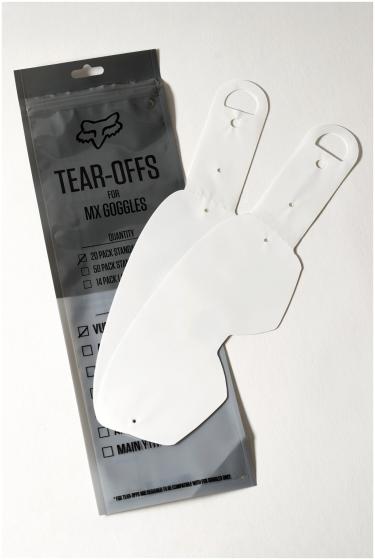 Fox Y-Airspace / Main II Standard Tear Offs