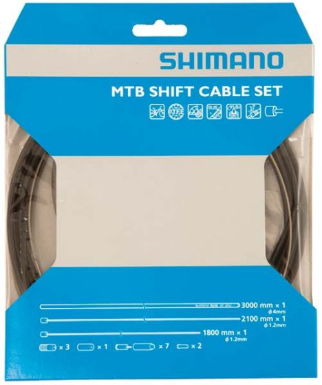 Shimano XTR Stainless Steel MTB Gear Cable Set