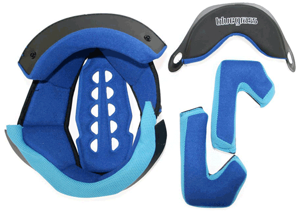 Bluegrass Explicit 2012 Replacement Helmet Pad Set