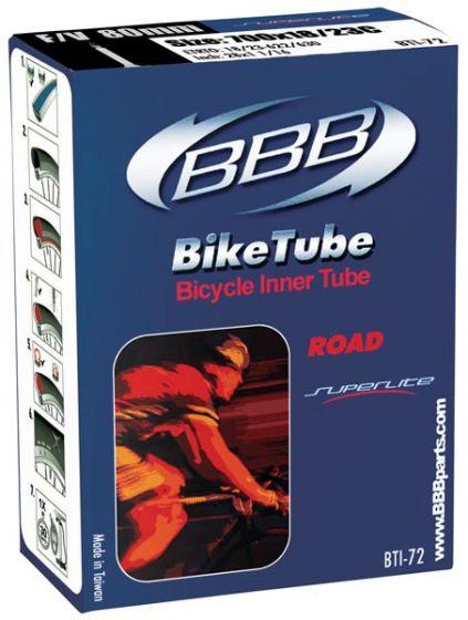 BBB Super Lite 700c 80mm Presta Innertube