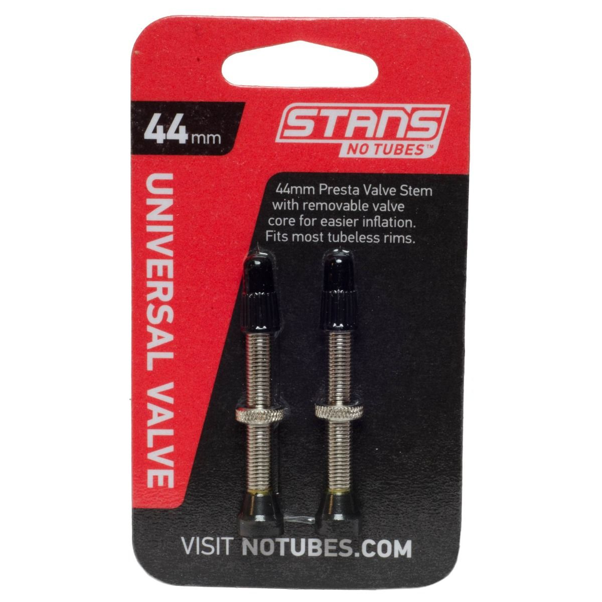 how to put stans in a presta valve