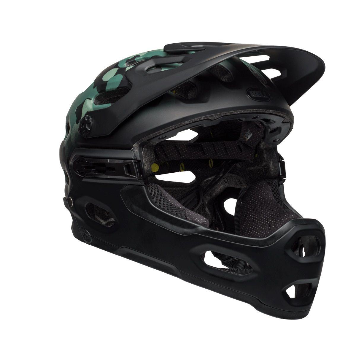 Bell Full Face Helmet >> Bell Super 3r Mips Full Face 2019 Helmet