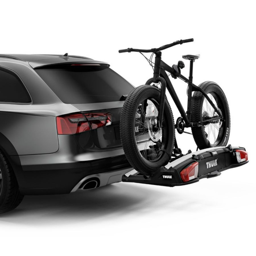 thule velospace xt 3 towball mounted bike rack. Black Bedroom Furniture Sets. Home Design Ideas