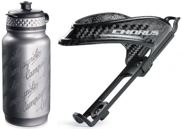 Campagnolo Chorus BC4-CHC Bottle Cage With Bottle
