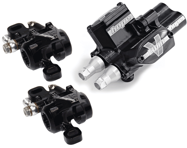 Hope V-Twin Remote Brake System With X2 Calipers