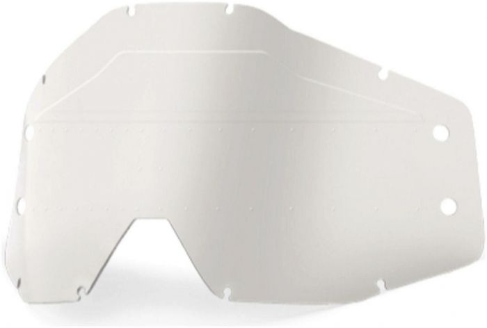 100% Accuri Forecast Youth Sonic Bumps Clear Lens