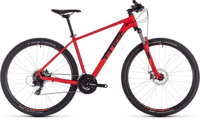 Cube Aim 2019 Bike - Red/Orange