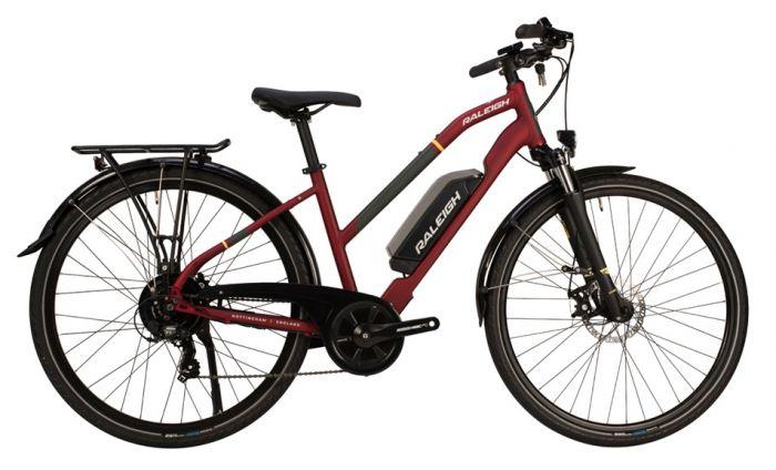 Raleigh Array Open Frame 2020 Womens Electric Bike