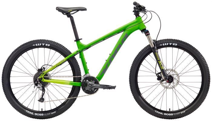 Kona Fire Mountain 2018 Bike-Green-X-Small