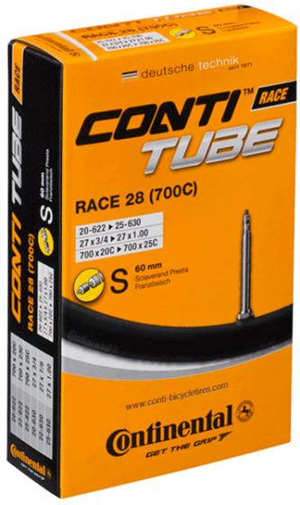 Continental Race 28 Light 700c Presta Long Innertube