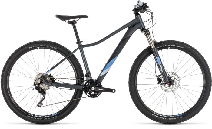 Cube Access WS Race 2019 Womens Bike - Iridium/Blue