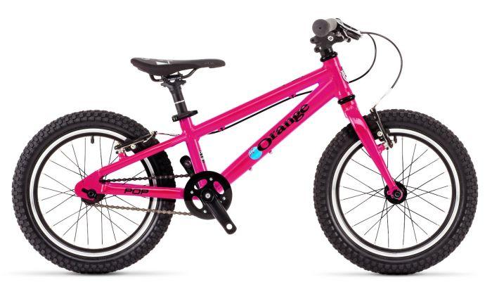 Orange Pop 16-inch 2019 Kids Bike - Back to the Fuchsia