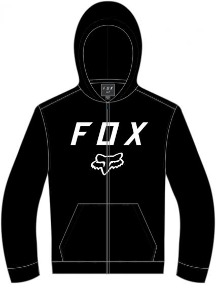 Fox Legacy Moth Youth Zip Hoodie