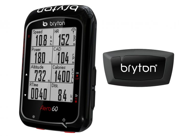 Bryton Aero 60H GPS Cycle Computer