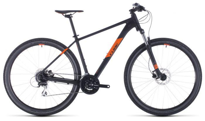 Cube Aim Pro 2020 Bike - Black/Orange