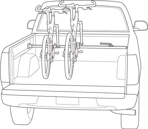 Saris Kool 1 Bike Van/Truck Rack