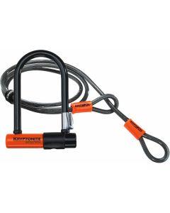 Kryptonite Evolution Mini 7 Lock With Kryptoflex Cable
