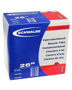 Schwalbe 26-Inch FatBike Presta SV13J Innertube