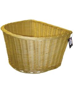 Adie D Shape 18-Inch Wicker Basket