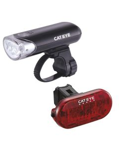 Cateye EL135 / Omni 5 Front and Rear Light Set