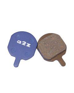 A2Z Hayes MX-2/MX-3/QMD-6 Organic Disc Brake Pads