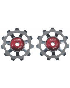 BBB BDP-22 AluBoys 11T Ceramic Jockey Wheels