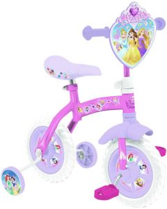 Disney Princess 2 In 1 10-Inch Training Bike