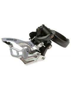 SRAM X5 2x10-Speed Low Clamp Front Derailleur