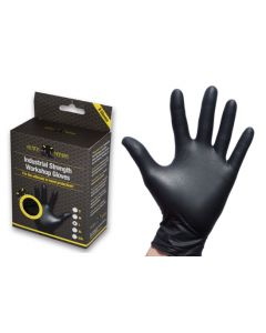 Black Mamba Nitrile Workshop Gloves 8 Pack