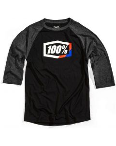100% Stripes 3/4 Sleeve Tech T-Shirt