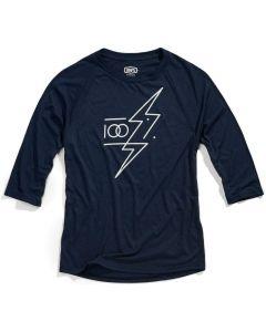 100% Helgi 3/4 Sleeve Tech T-Shirt