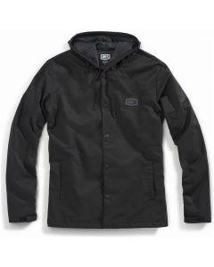100% APACHE Hooded Snap Jacket